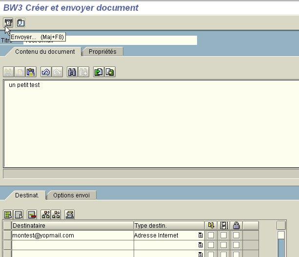 Transaction SO01 : Envoyer un email (détail)